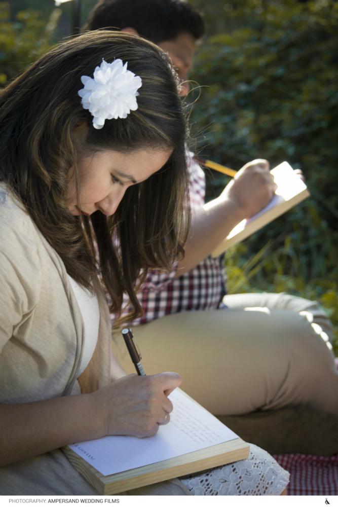 Escribiendo la carta