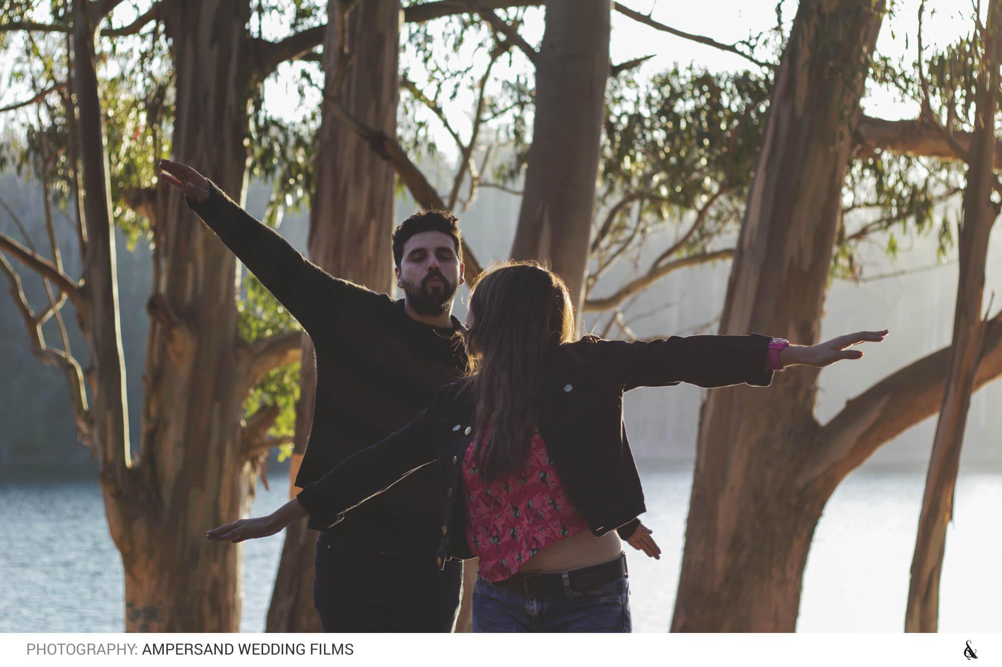 Caro y Ricardo, Engagement Shoot en Laguna Curauma
