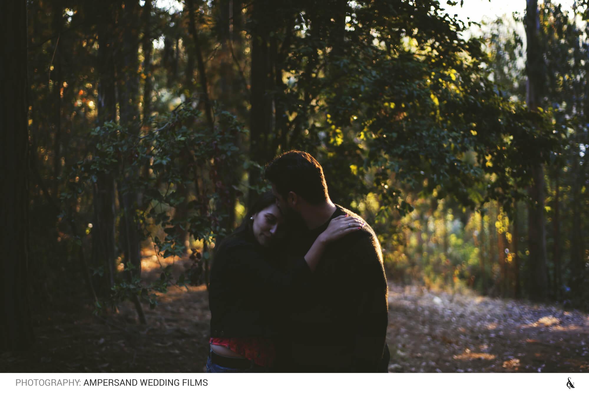Caro y Ricardo en Laguna Curauma