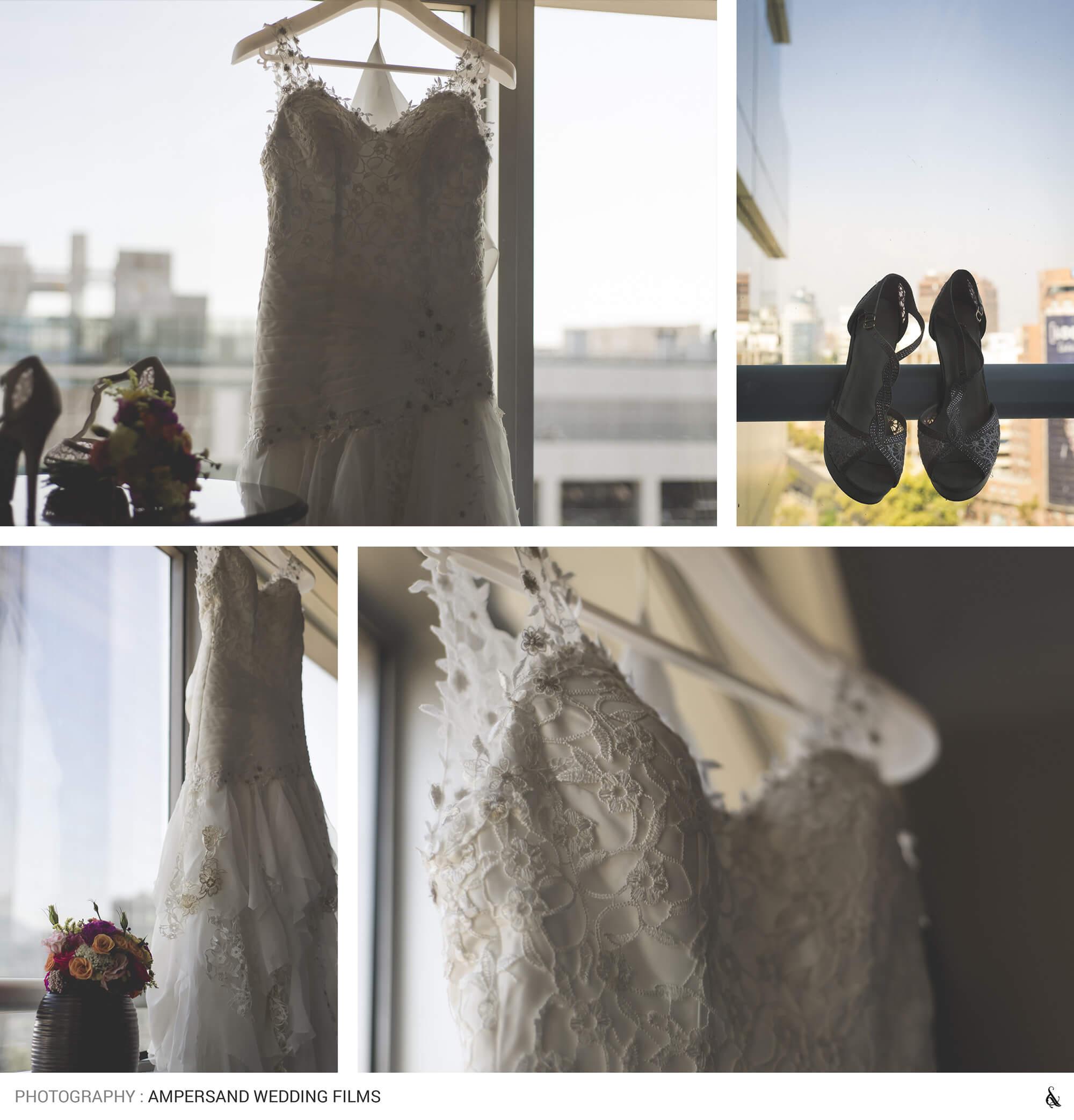 Preparativos de la novia en el Hotel Radisson - by @amperstudios