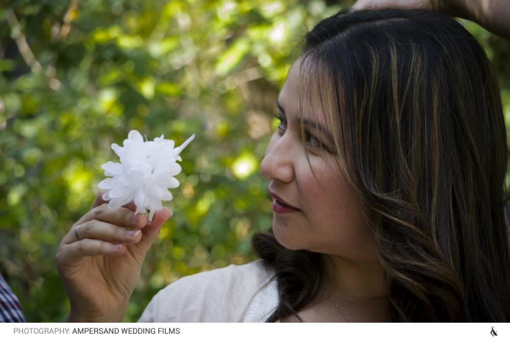 Blanca y la flor