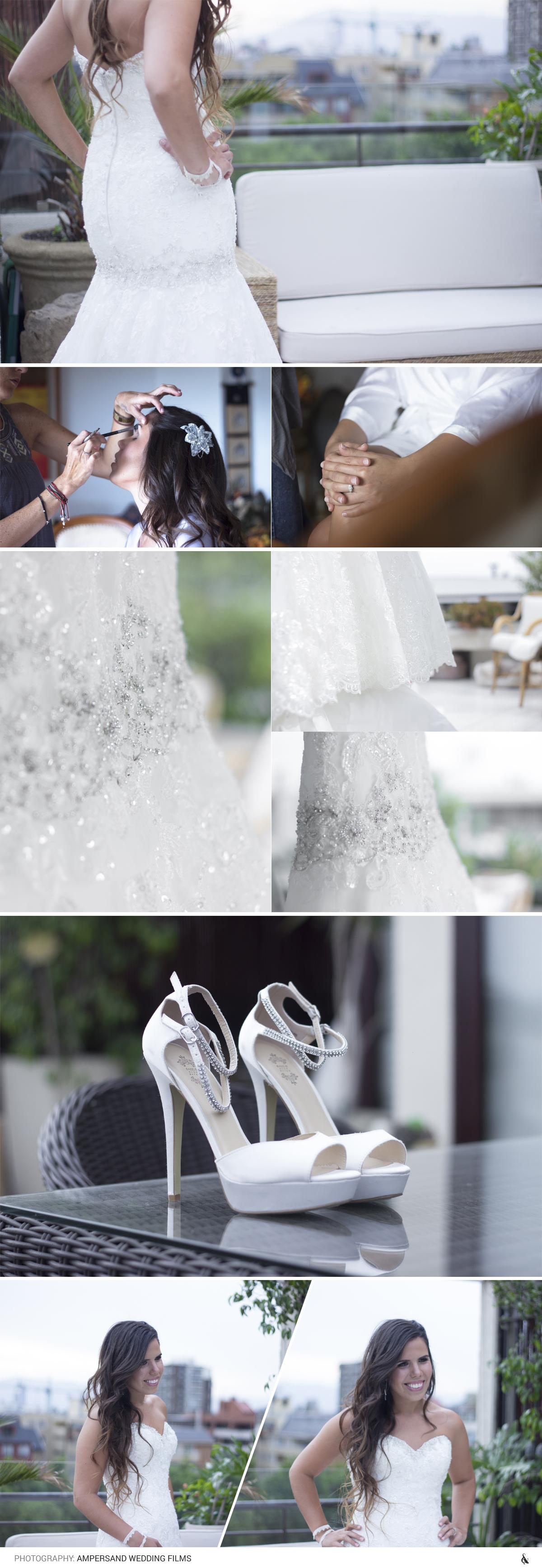 Look boda primavera por Ampersand Studios