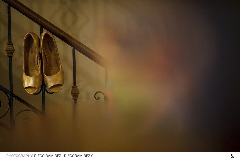 Estilo de Bodas: Zapatos de Novia - Fotografía Diego Ramírez - Ampersand Studios
