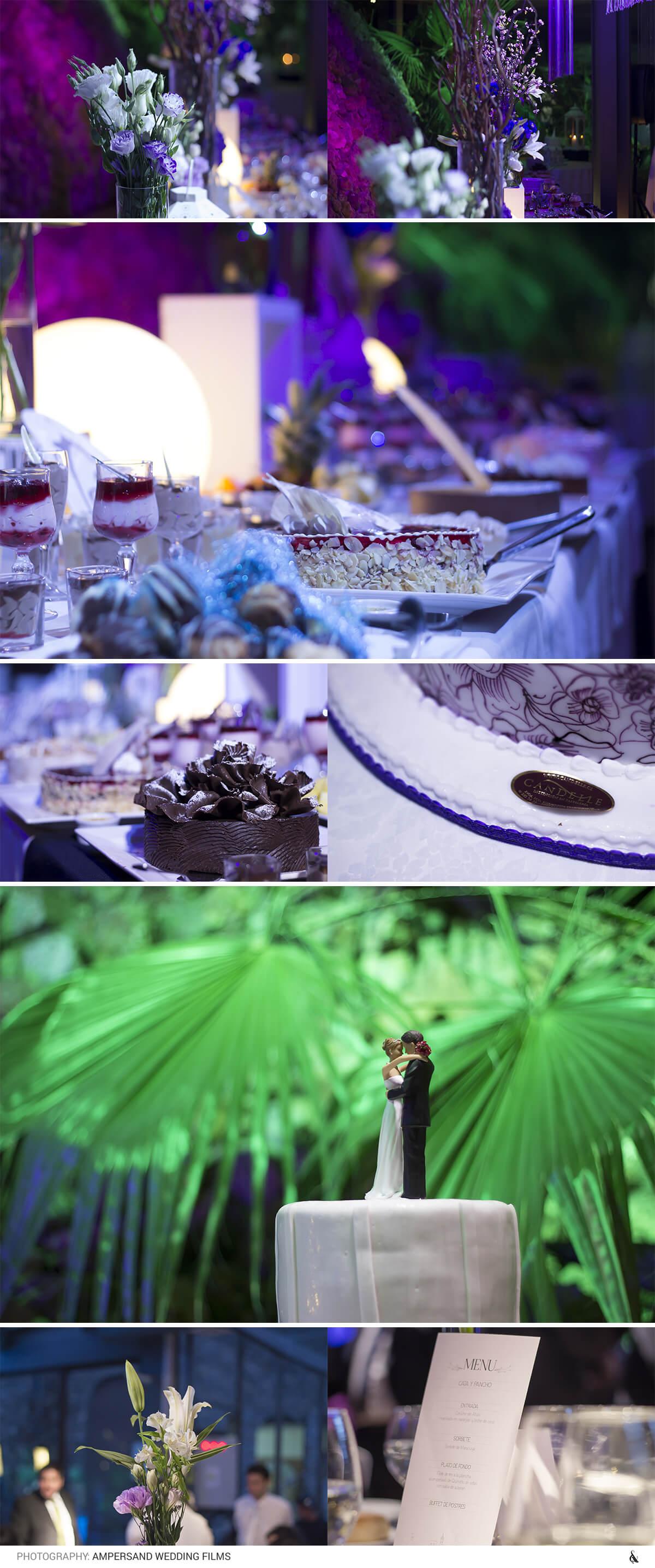 Estilo de Bodas: Pastel de Bodas, Decoración - Ampersand Studios