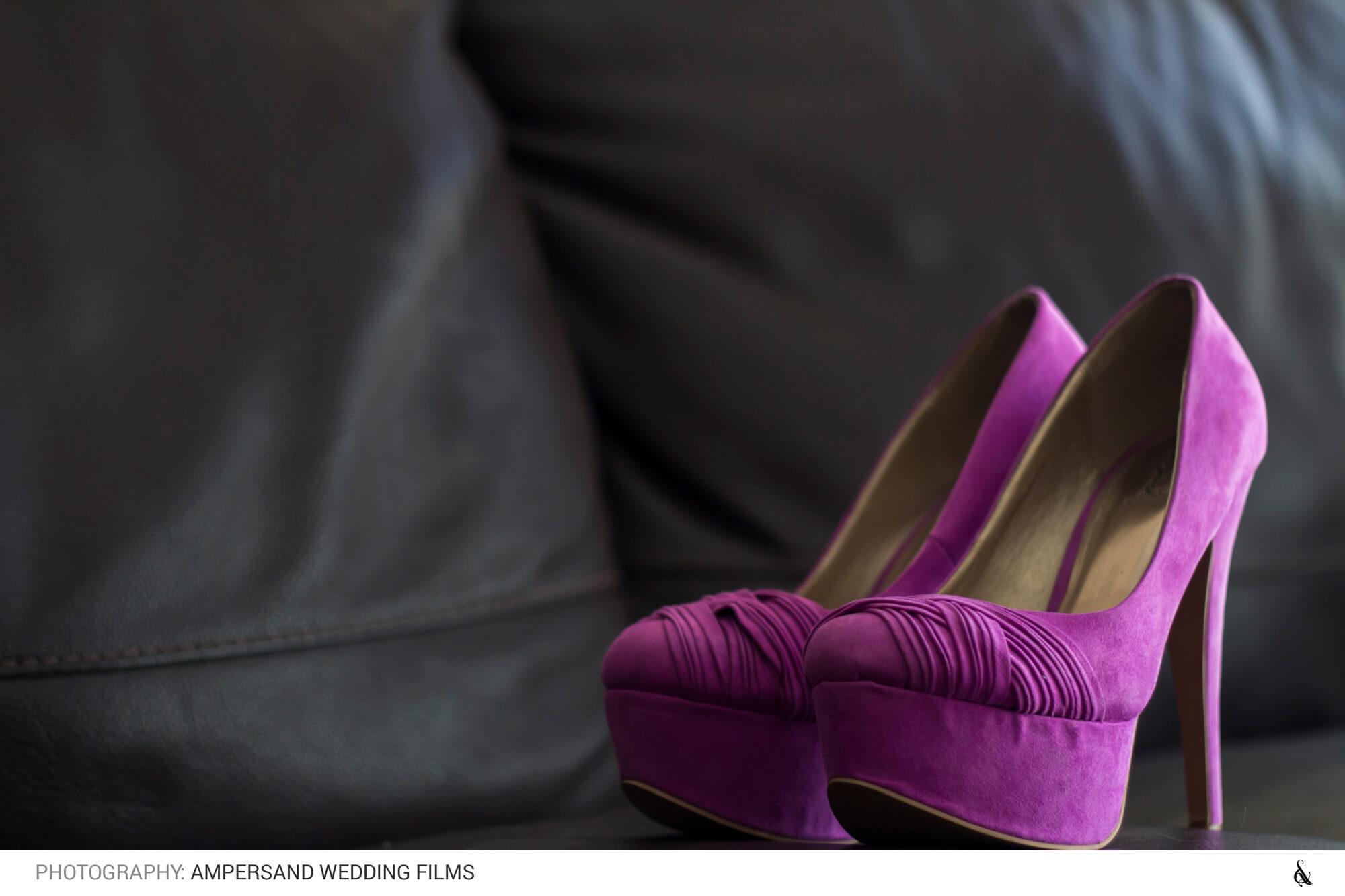 Zapatos de novia - Matrimonio Pía & Juan Pablo en Campus Oriente