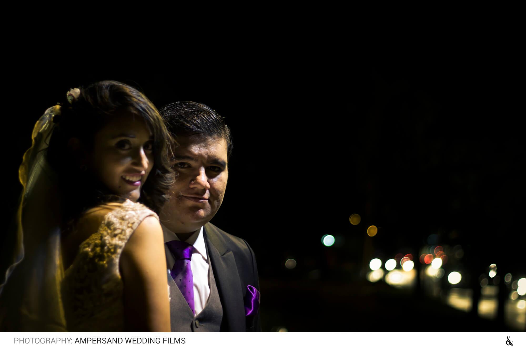 Paseo de novios por la ciudad - Matrimonio Pía & Juan Pablo en Campus Oriente