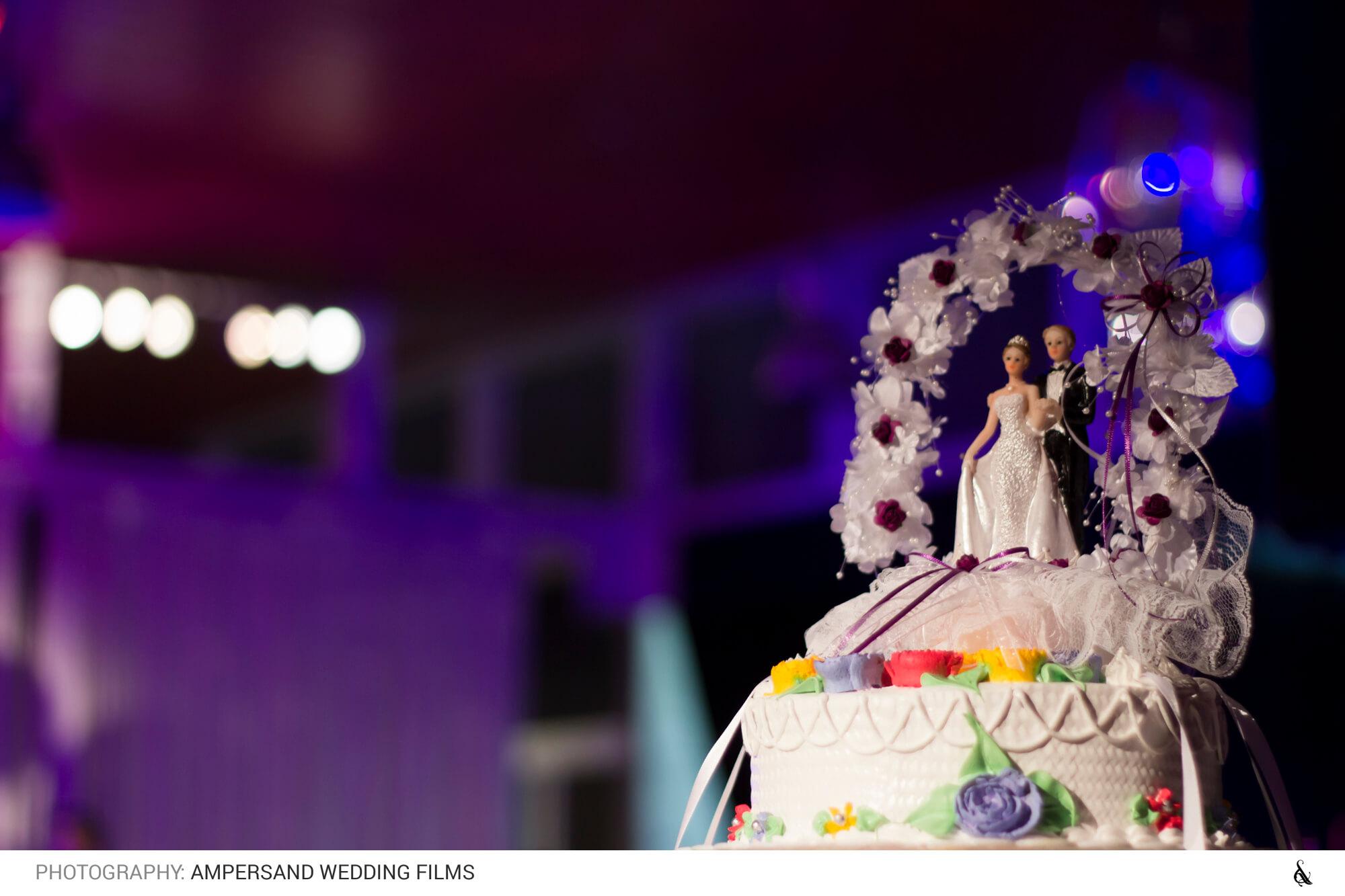 Torta de novios - Matrimonio Pía & Juan Pablo en Campus Oriente